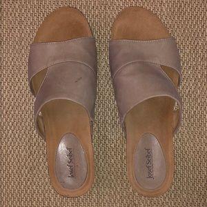 Comfortable slip on sandals